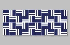 "1 M² ""Tebas"" Royal Blue Ceramic Tiles - online store"