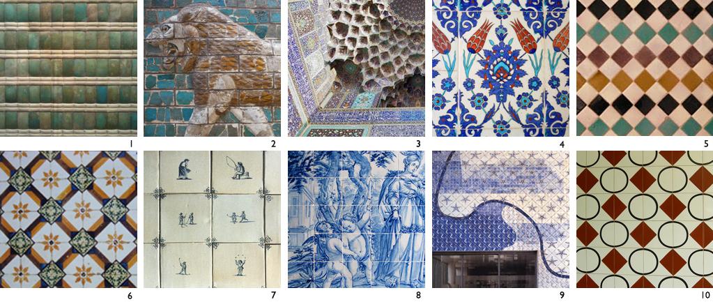 Azulejos decorados por m lurca for Casa dos azulejos lisboa