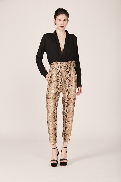 pantalon matador reptil - Paris by Flor Monis