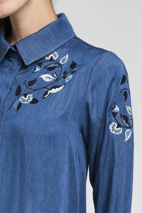 CAMISA AGUA - Paris by Flor Monis