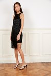 VESTIDO DORAL NEGRO - Paris by Flor Monis