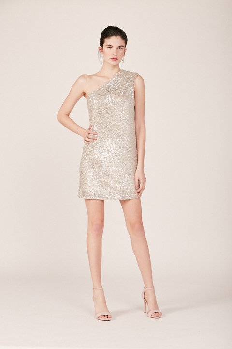 VESTIDO HOLLYWOOD PLATA