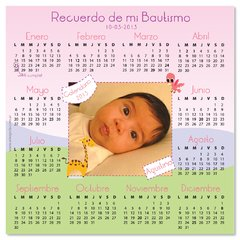 Im‡n calendario animalitos