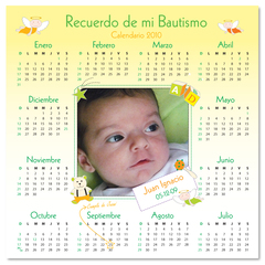 Im‡n calendario en amarillo