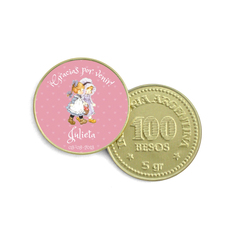 Moneda de Chocolate sarah Key