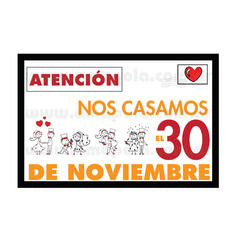 Save the date con dibujos