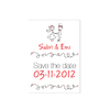 Save the date con dibujos 7x10cm