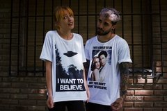Remera Mulder and Scully - tienda online