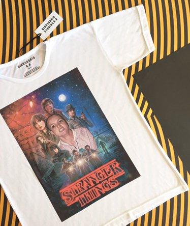 Remera Stranger things en internet