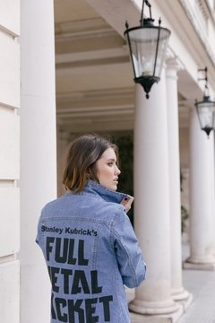 Full Metal Jacket #3 azul vintage