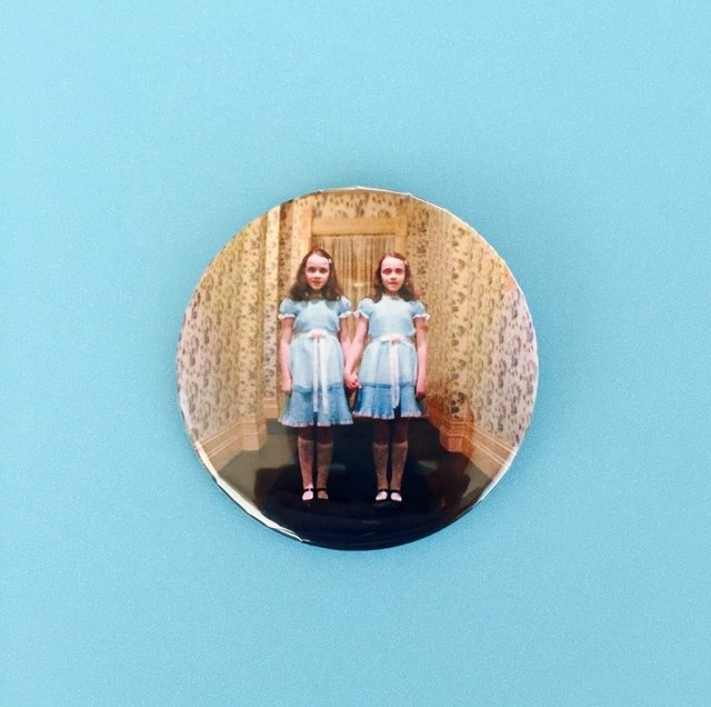 The shining twins pin