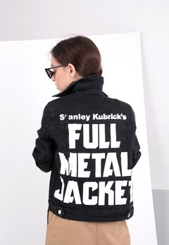(Women) Full Metal Jacket #2 negro gastado