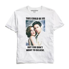 Remera Mulder and Scully