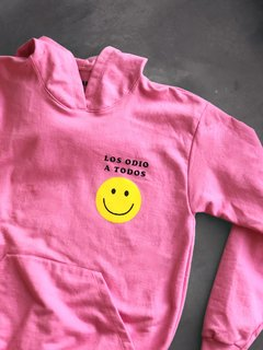 (Ungendered) Hoodie Oversize Smiley - comprar online