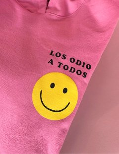 (Ungendered) Hoodie Oversize Smiley en internet