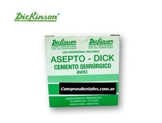 Cemento quirúrgico DICKINSON x 20 ml.