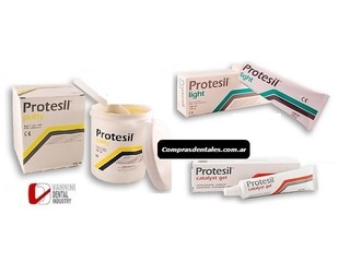 PROTESIL putty x 1,5 kg + light + activador - comprar online