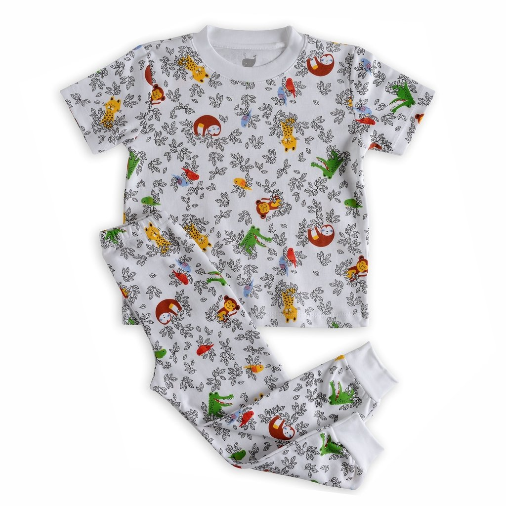 e0aa57cd1 Pijama Kids Amazônia - blusa manga CURTA - comprar online