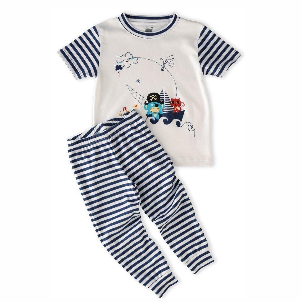 7a1c4b088 Pijama Barco - manga longa e calça