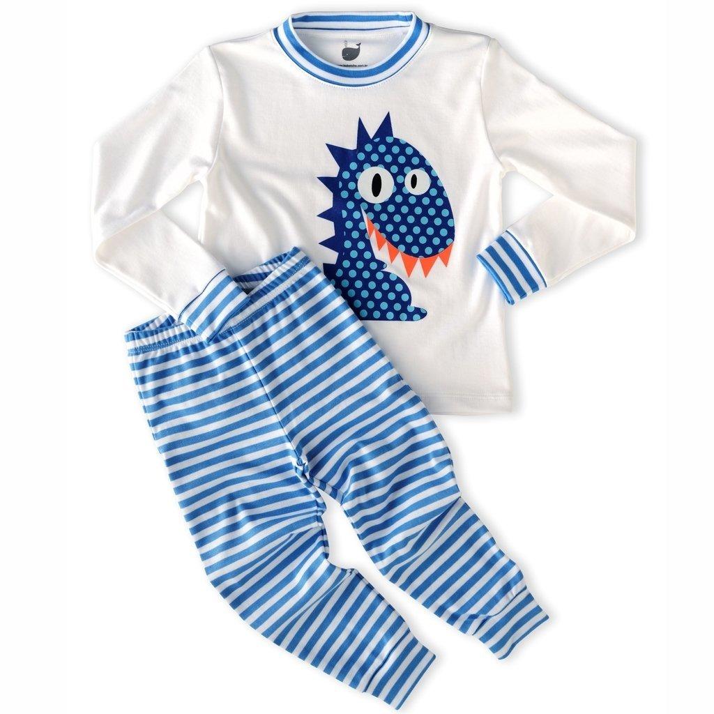 51175faf1 Pijama Dinossauro - manga longa e calça