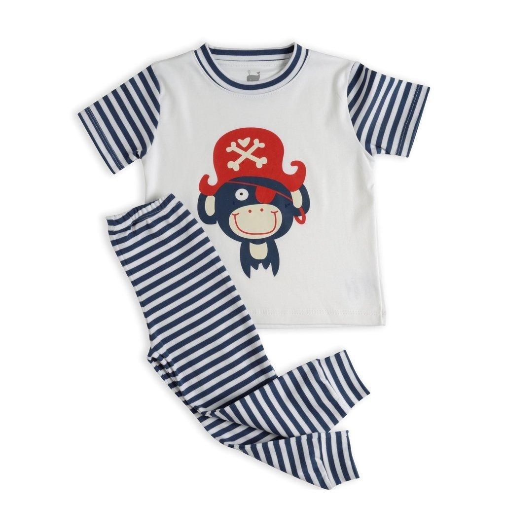 432b387ff Pijama Pirata Marinho - manga curta e calça na internet