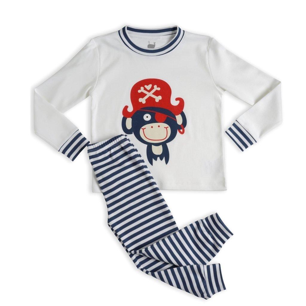 9fe023d44 Pijama Pirata Marinho - manga longa e calça - comprar online
