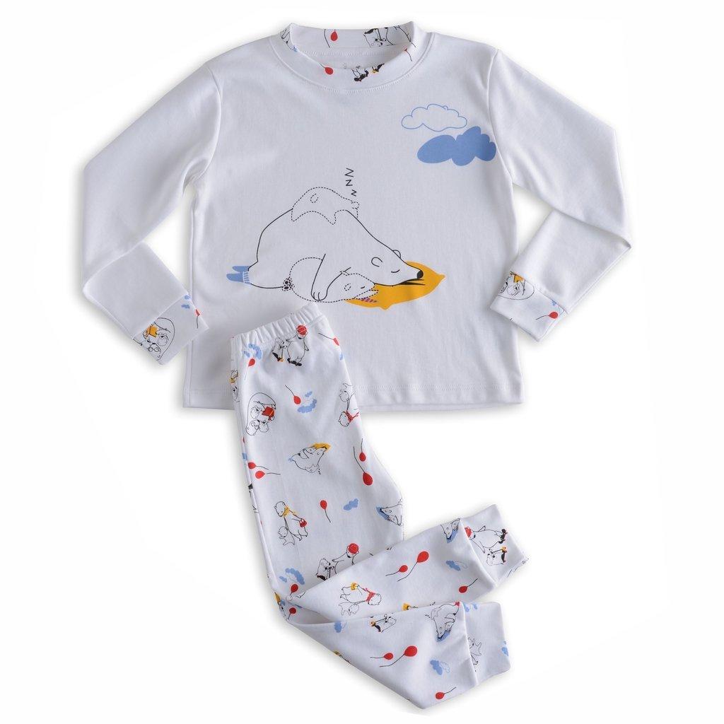 19492d585 Pijama Família Urso calça + blusa manga longa
