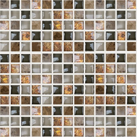 Malla 8mm Crystal Mosaics Terra Baltic