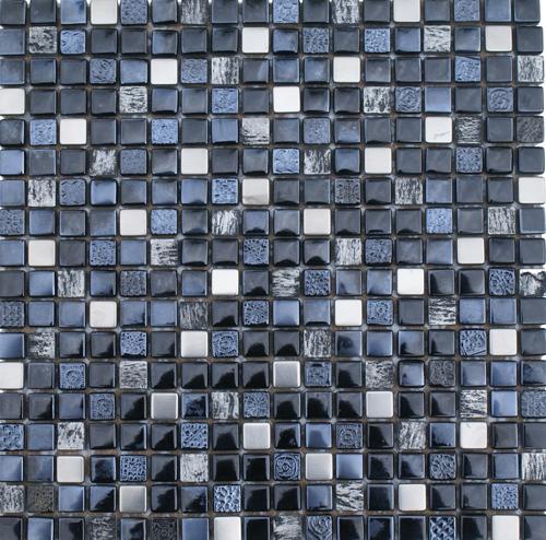 Cabinas De Baño Oikos:Malla 8mm Crystal Mosaics Terra Zafiro – Oikos Design
