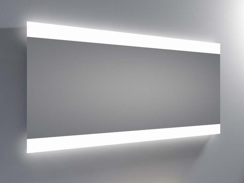 Espejo luz led integrada resplandor 2 barras - Espejo bano con luz integrada ...