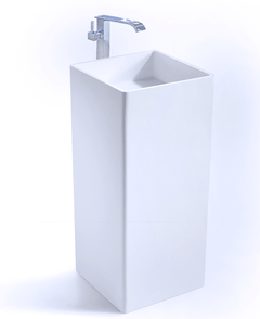 Lavabo Pedestal a piso Cube Kand
