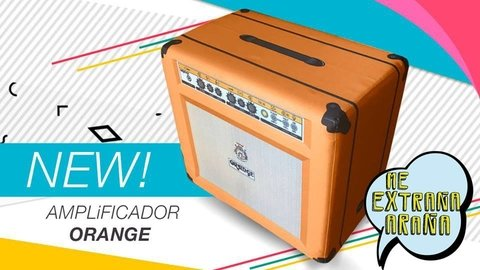 Puff ampli Orange