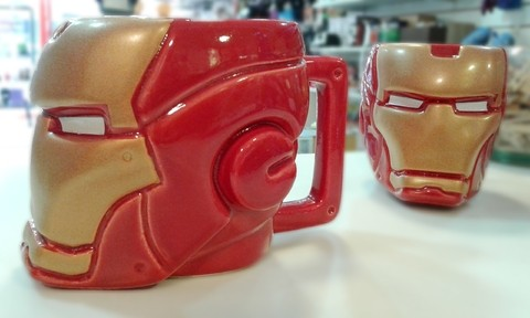 Taza iron man