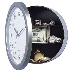 Reloj con escondite (Safe clock)