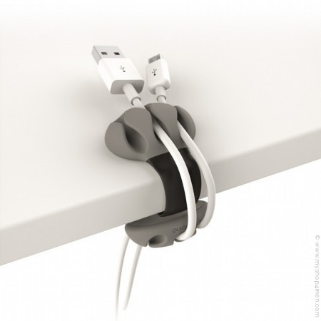 Desk cable clip / Sujeta cables