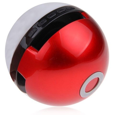 Parlante bluetooth pokebola
