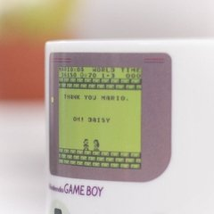 Taza GAME BOY sensible al calor! - Me extraña araña