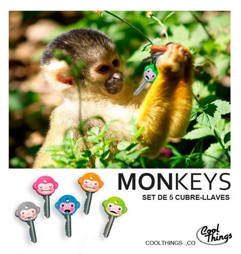 Cubre llaves Monkeys