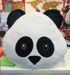 Almohadon emoji emoticon PANDA