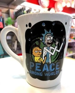 Taza cónica Rick and Morty