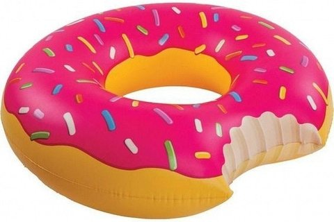 Inflable rosquilla