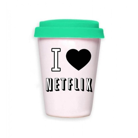 Taza Netflix / Coffee is always a good idea