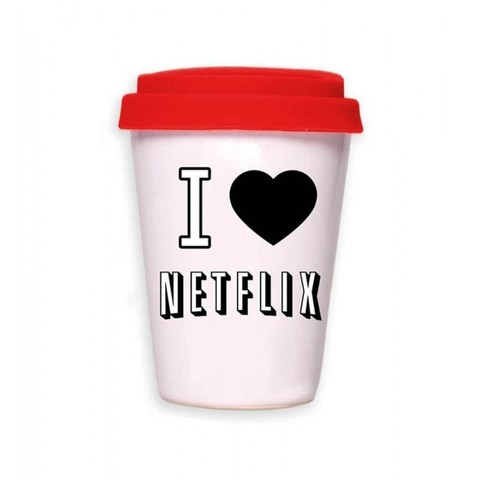 Taza Netflix / Coffee is always a good idea - Me extraña araña