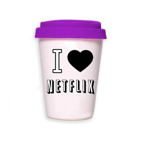 Imagen de Taza Netflix / Coffee is always a good idea