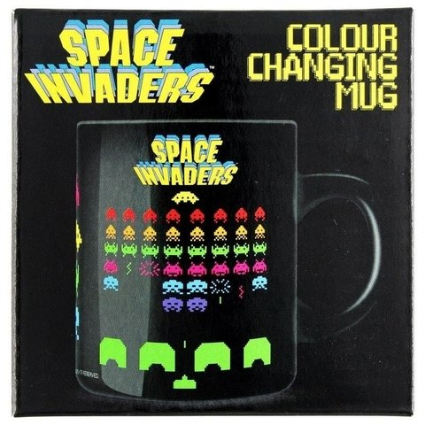 Taza SPACE INVADERS sensible al calor - Me extraña araña