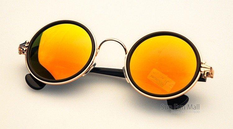 72ca6b193 Óculos Feminino Redondo Multi-Colorido