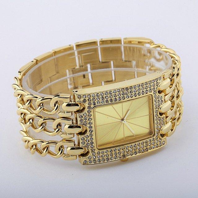 d2b13031a24 Relógio Euro Feminino Dourado