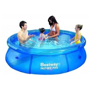 Pileta Inflable Bestway 244 X 66 Cm 2300 Lts Fast Set. ART: 57008