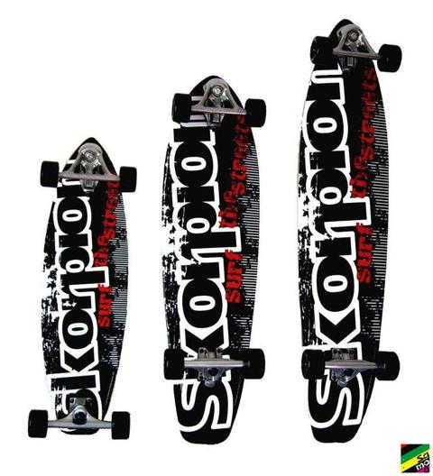 Longboard Profesional Skorpion Talle Medium