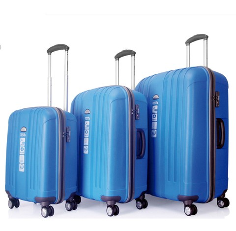 SET DE VALIJAS 20-24-28 TRAVEL IRROMPIBLE CANDADO.  25196